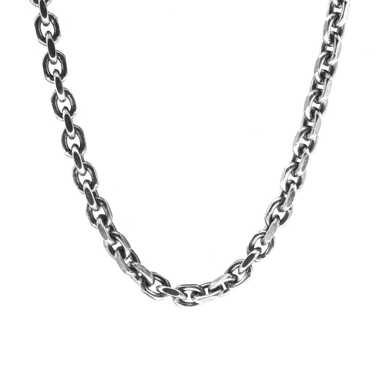 Anchor & Crew Salcombe Voyage Silver Necklace Pendant in Metallic