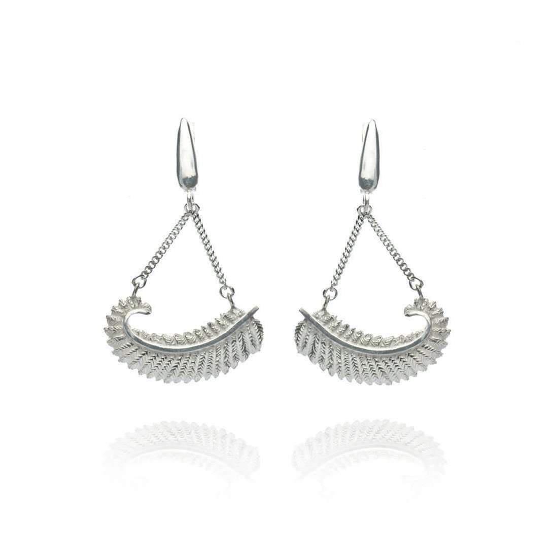 Patience Jewellery Fern Stud Earrings Z5vsf
