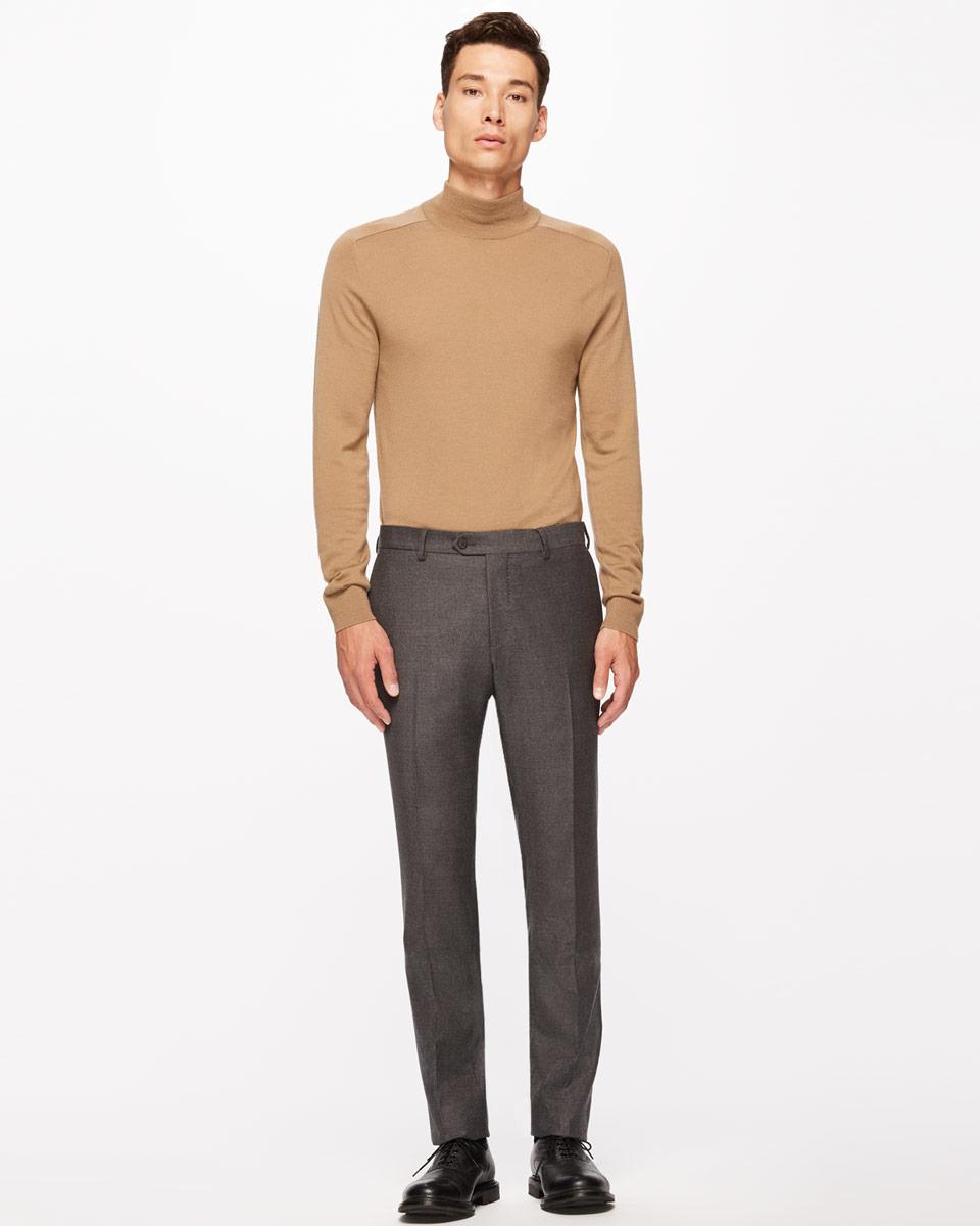 jigsaw bloomsbury italian flannel slim fit trousers in
