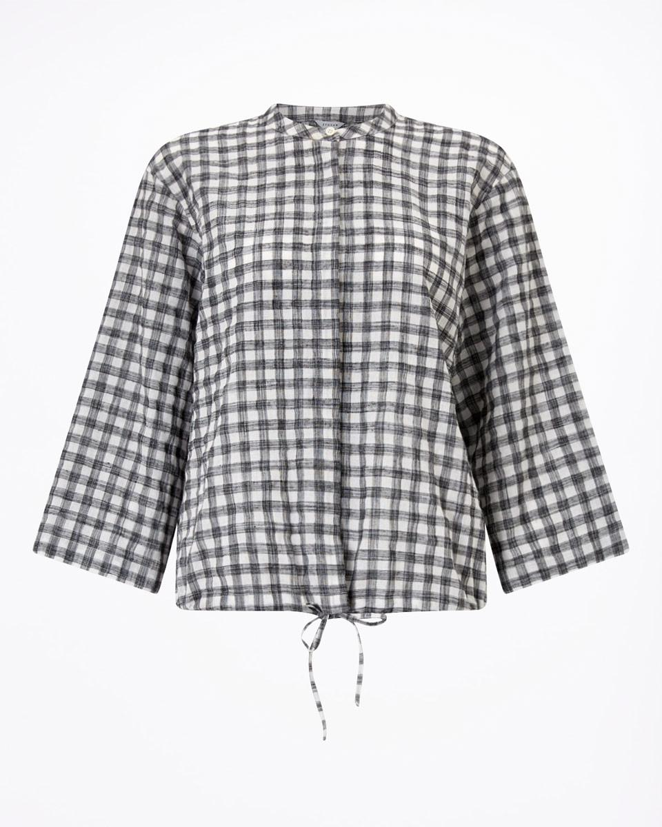 Jigsaw Synthetic Casual Check Shirt in White
