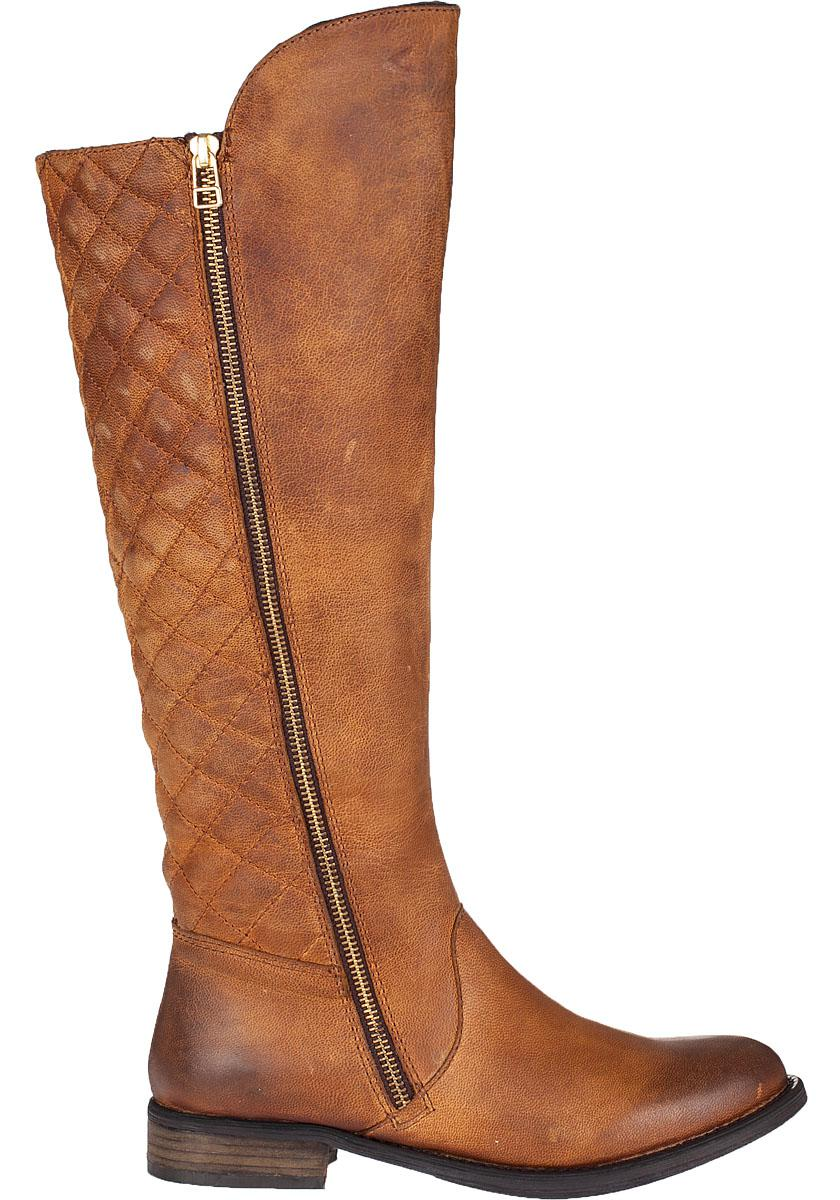 b4177674193 Steve Madden Brown Northsde Tall Boot Cognac Leather