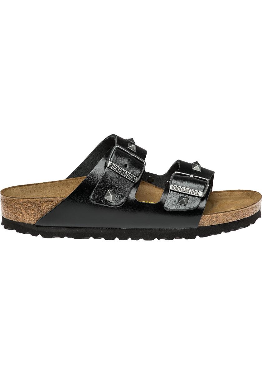 Birkenstock Arizona Studded Leather Sandals In Black Lyst