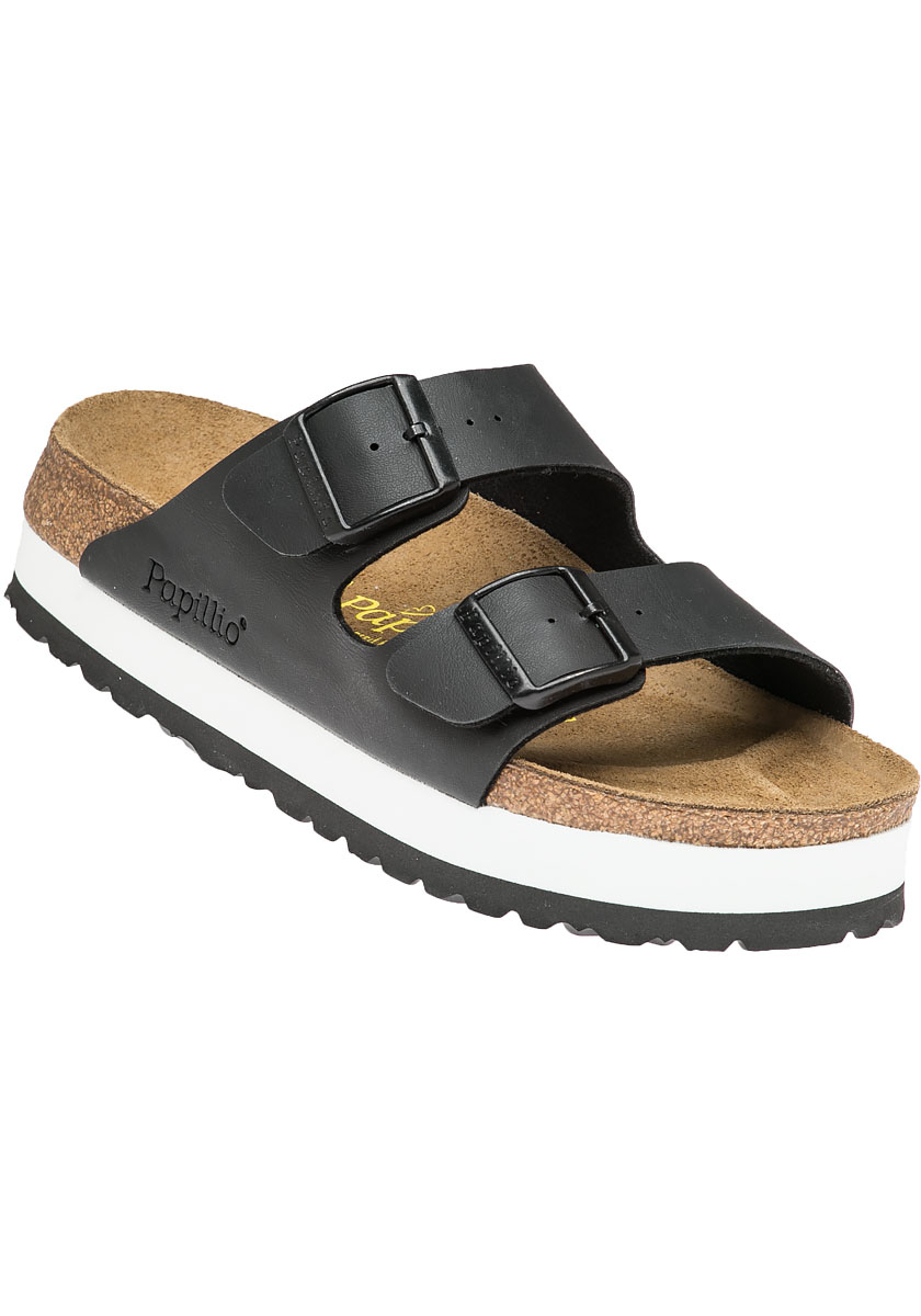 Birkenstock Arizona Platform Sandal in Black