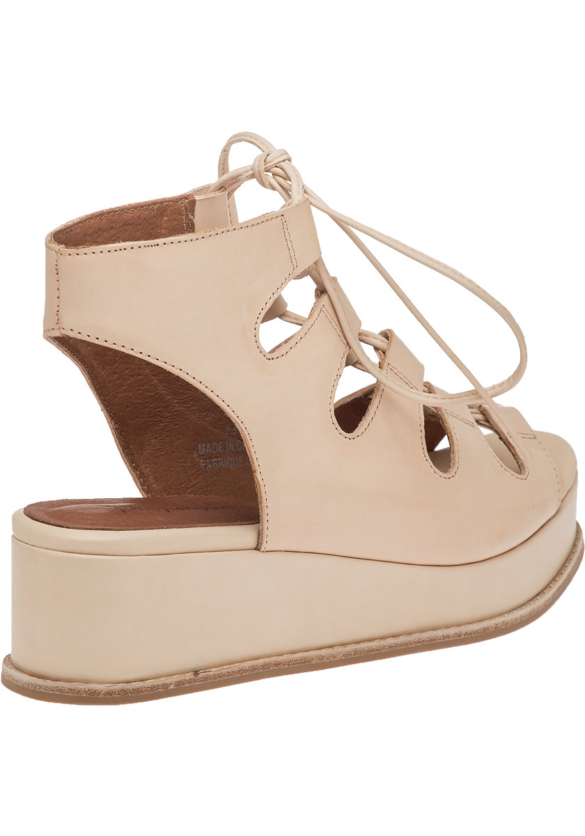 Lyst Jeffrey Campbell Ximeno Leather Lace Up Sandals In