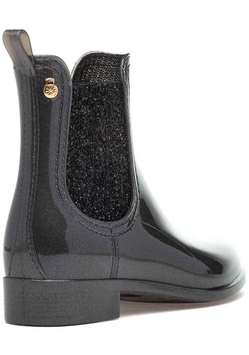 Sardenha Rain Boot Metal Grey Rubber