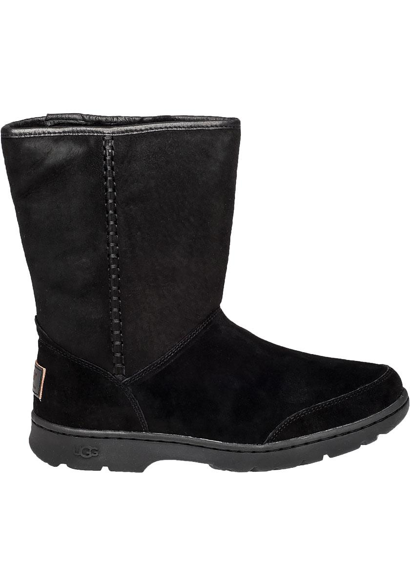 Ugg Michaela Water Resistant Suede Boots In Black Lyst