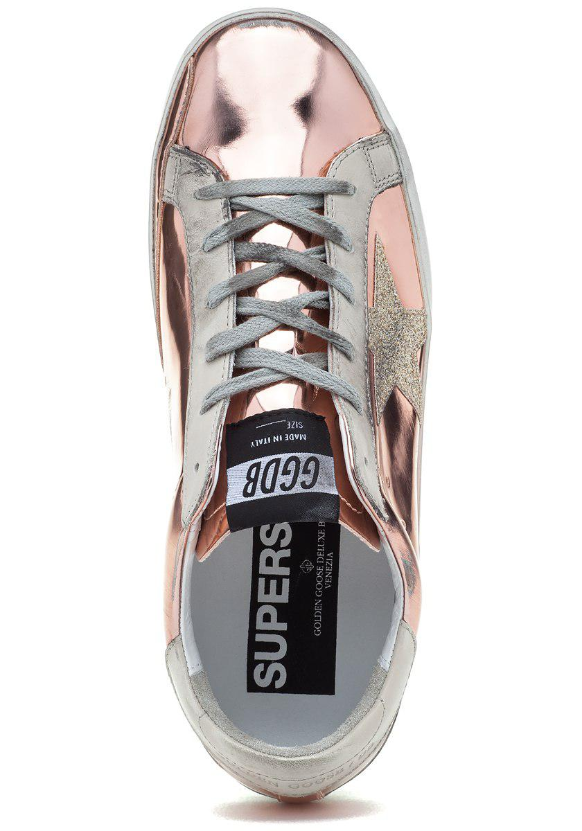 Superstar Lace Up Sneaker Pink Pearl
