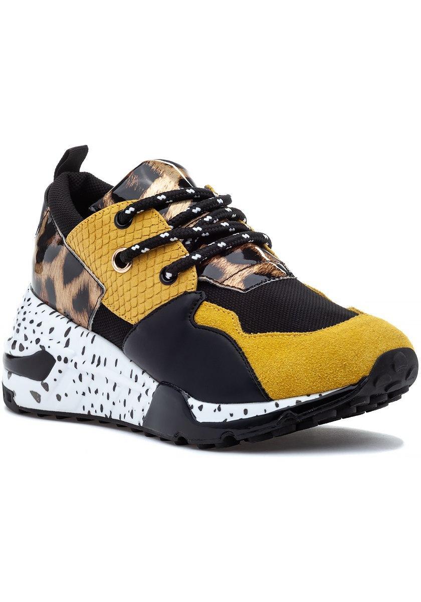 Cliff Sneaker Yellow Multi