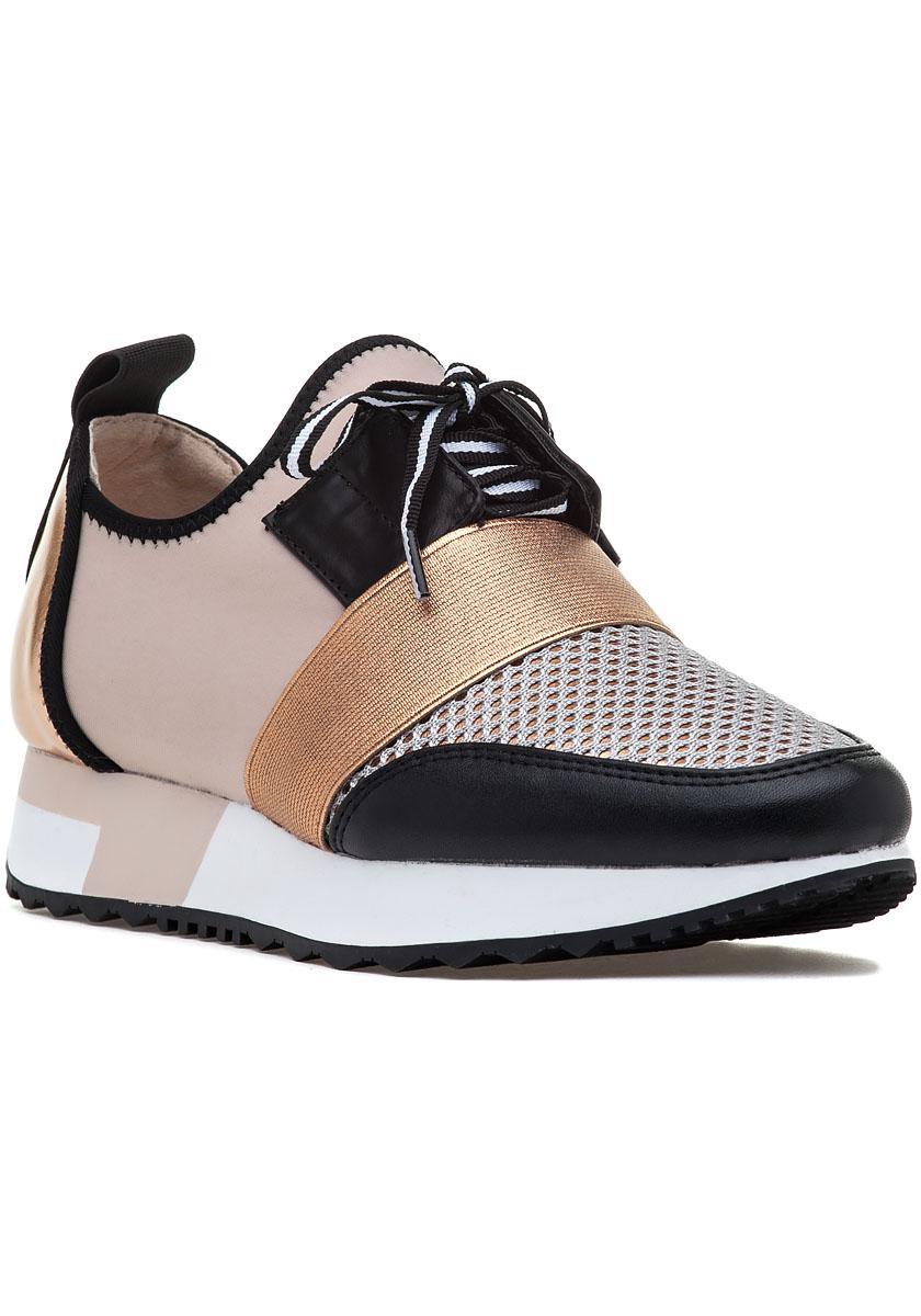 52974e499f6 Ammco bus : Steve madden antics sneakers rose gold