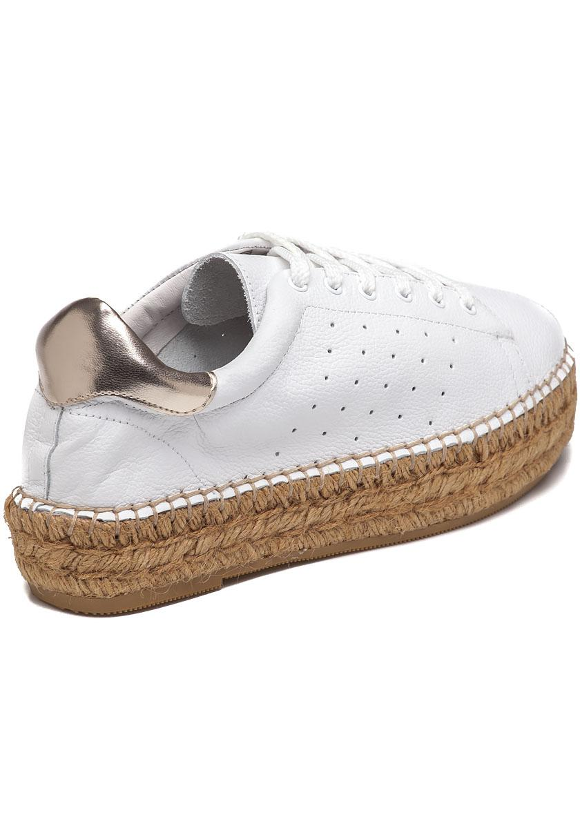 New Steven by Steve Madden Silver Metallic Pace Espadrille Sneakers Shoes  10