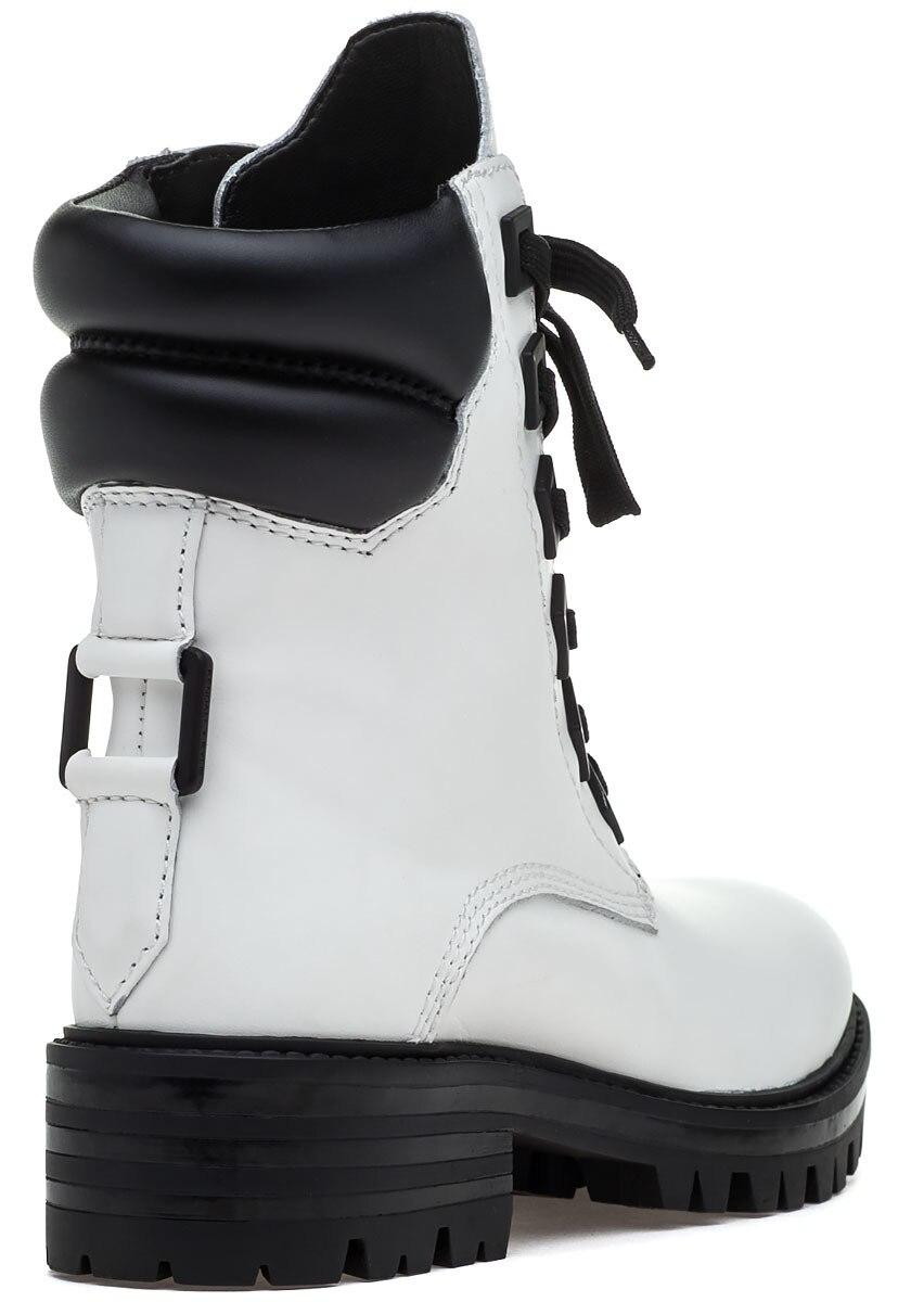 deca457088e Women's White K-east In Leather