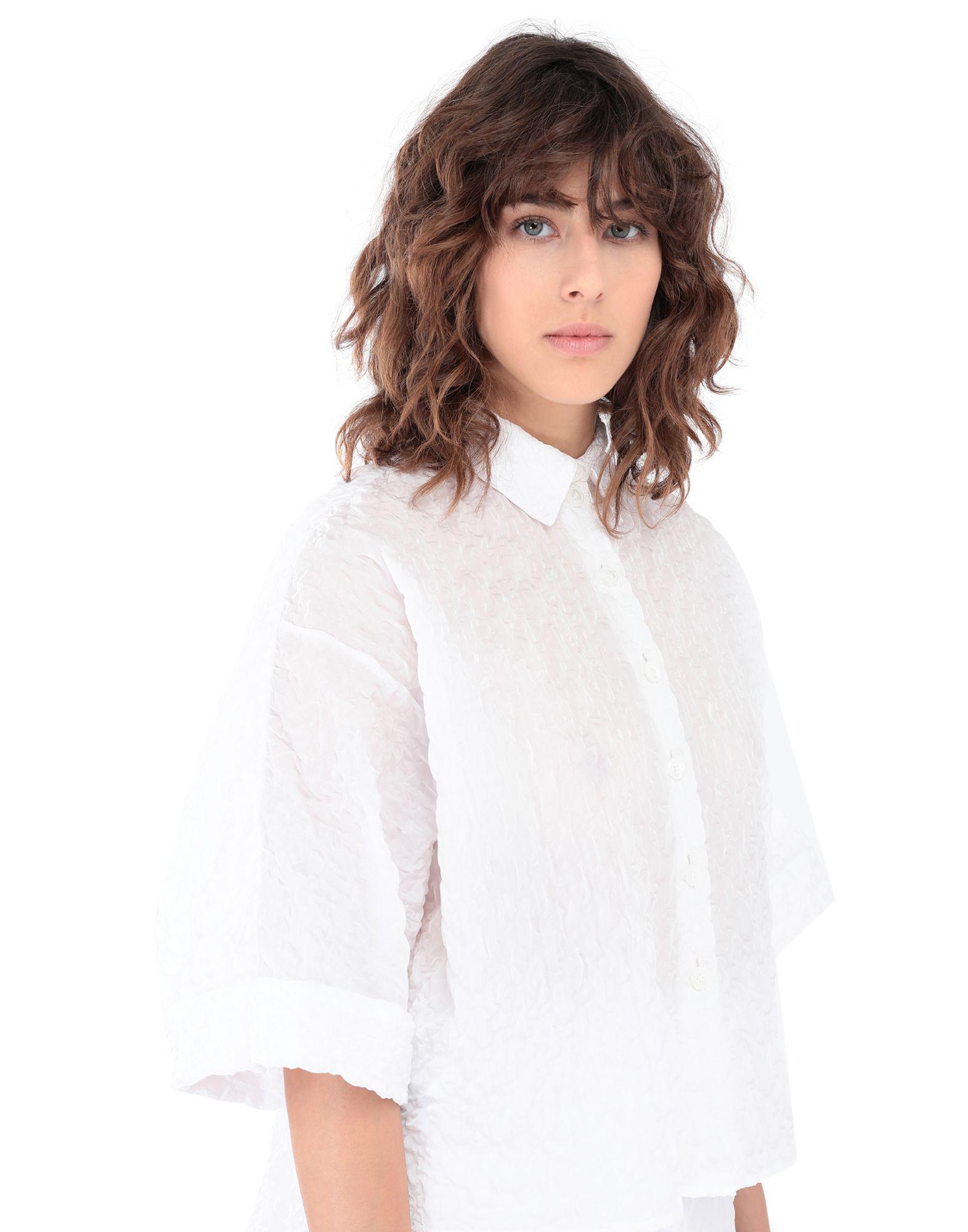 290ccca9 Lyst - Jil Sander Navy Shirt in White
