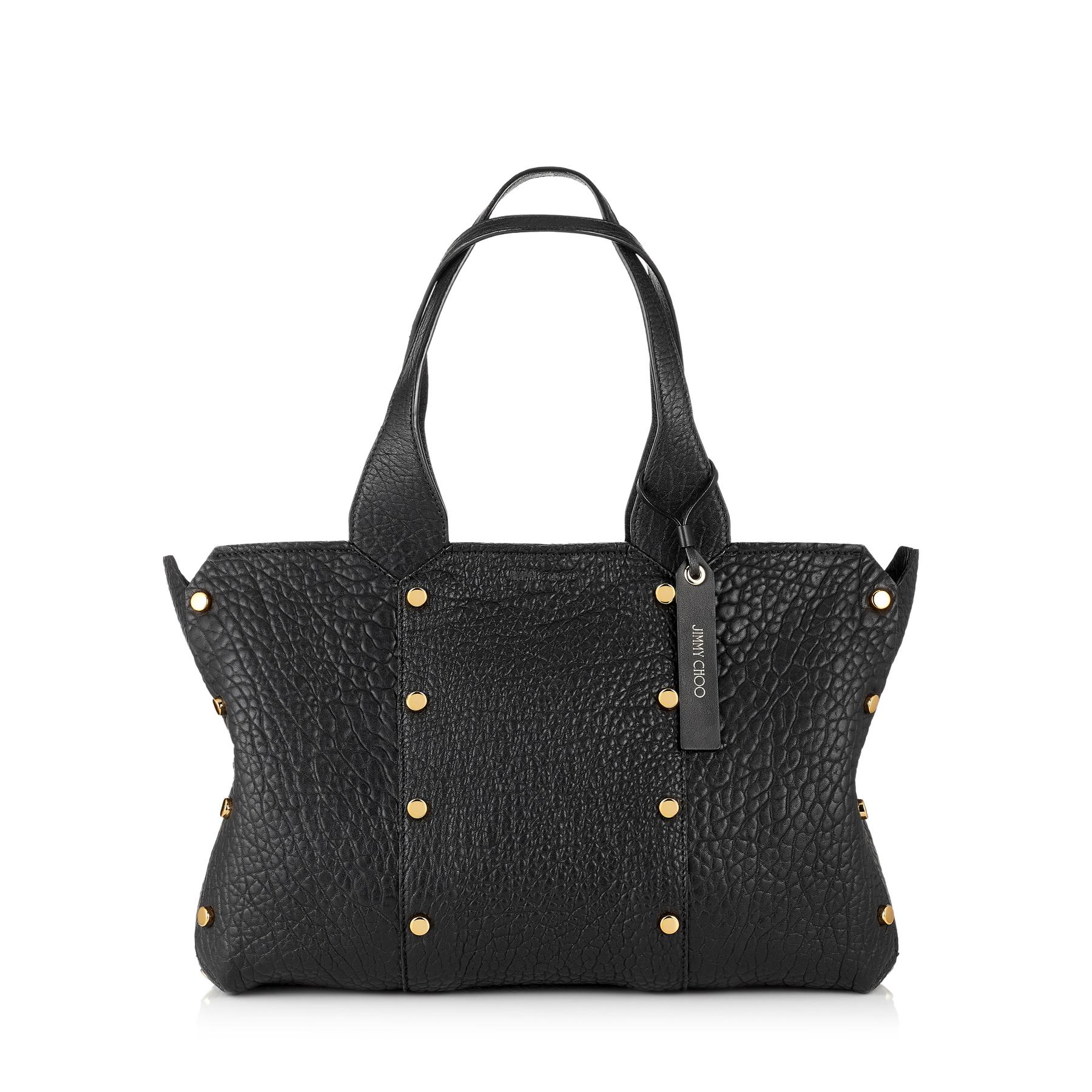 daa9df400b50 Lyst - Jimmy Choo Lockett Shopper s in Black