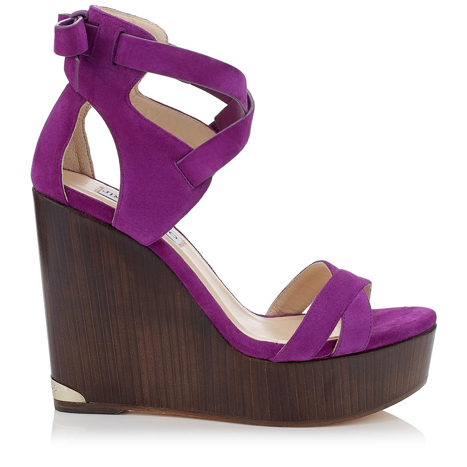 Radley Purple Suede Shoes