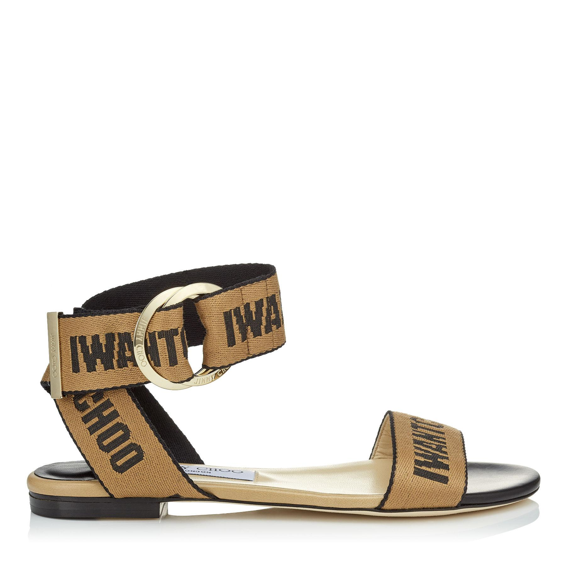 find great for sale affordable for sale Jimmy Choo Breanne flat sandals pick a best for sale free shipping clearance discount marketable UR2L3D
