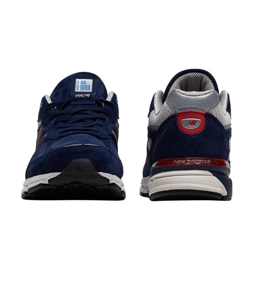 new arrival b9854 20791 Men's Blue 990 Running Trainer