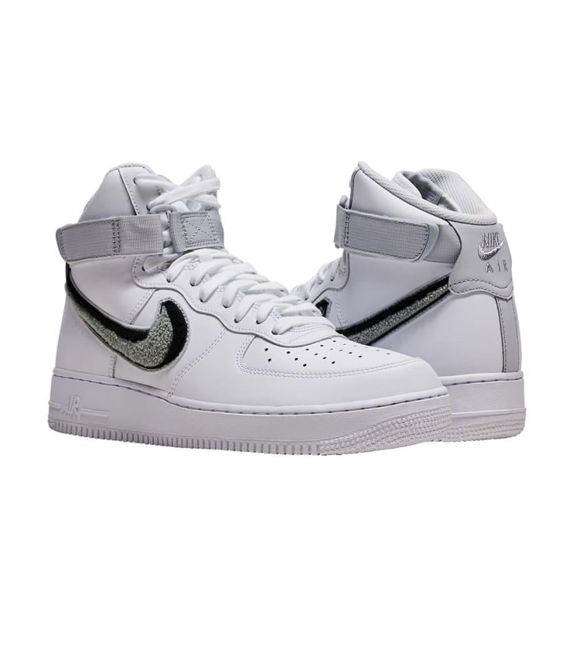 reputable site f345c 7ee86 Nike Air Force 1 High Lv8 Varsity in White for Men - Lyst