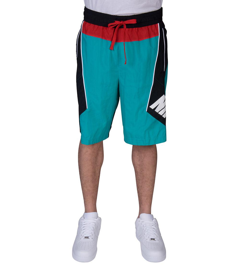 ba9ff8f775 Nike Throwback Shorts in Green for Men - Lyst