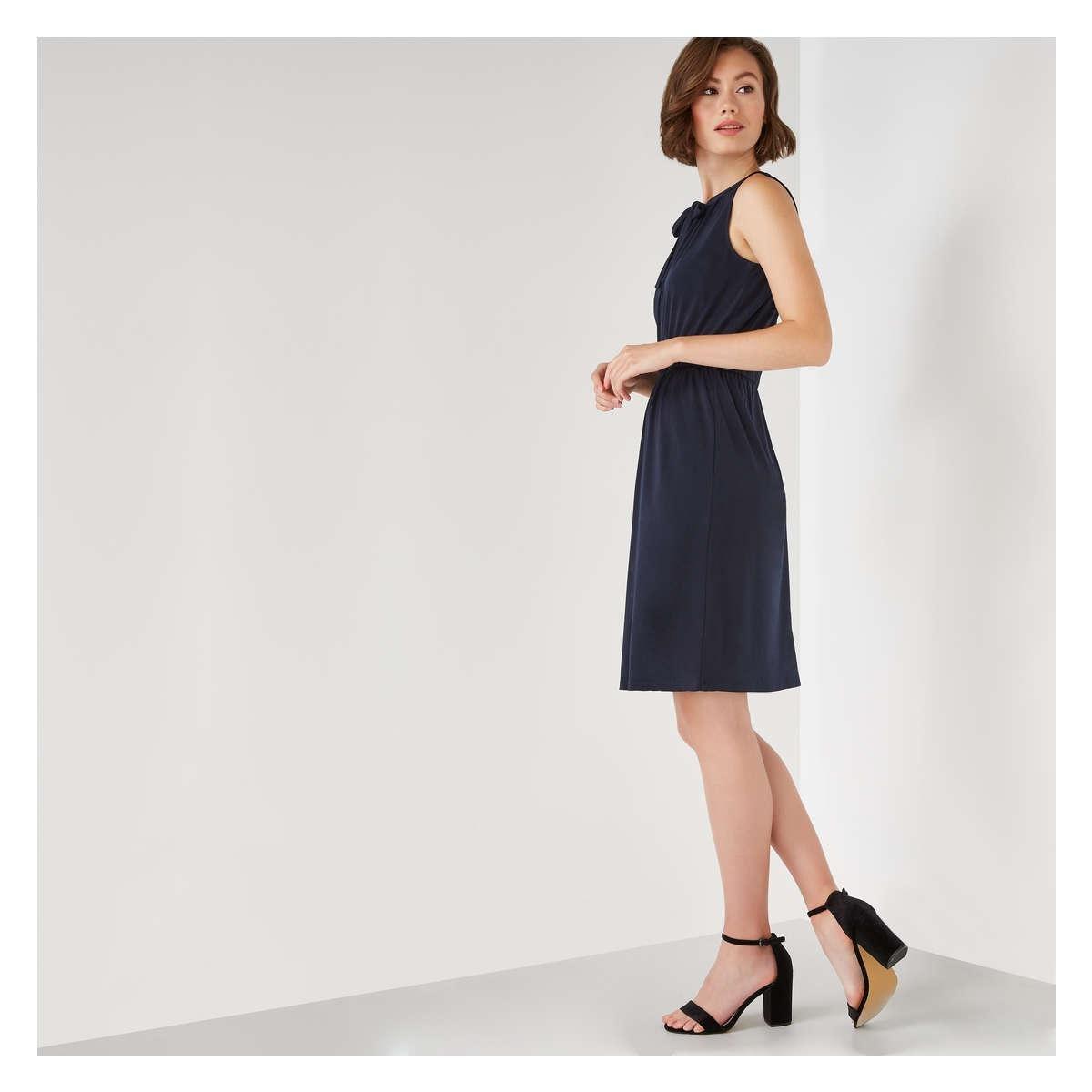 Joe Fresh - Blue Sleeveless Grommet Dress - Lyst. View fullscreen c83a2265a