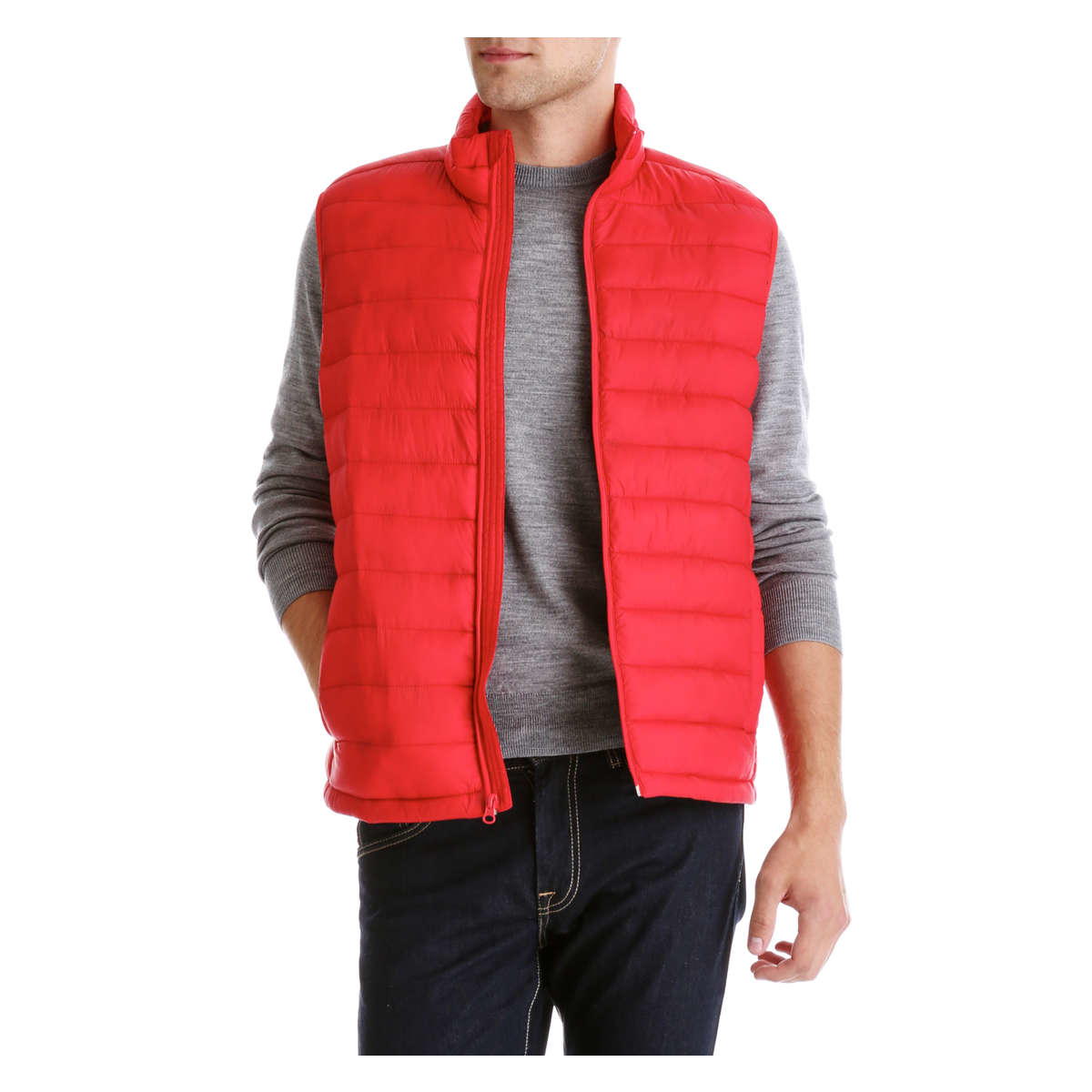 Discover men's puffer vests and warm vest jackets at Burlington. Great prices on all styles, with free shipping available.