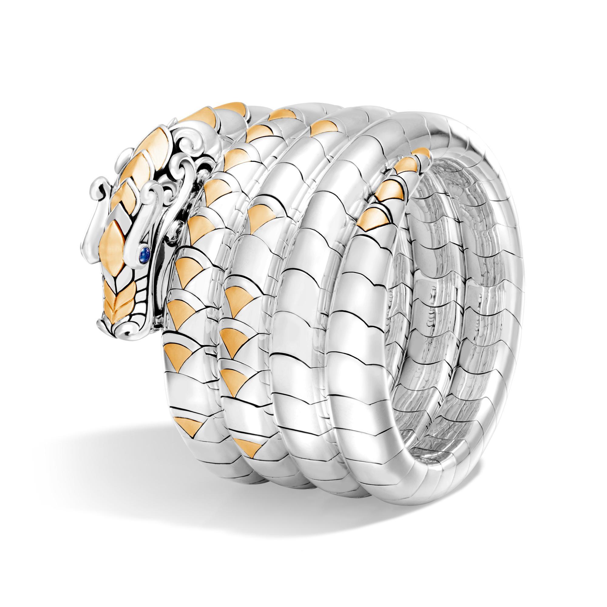 John Hardy Naga Multi Coil Bracelet LE4MX6h