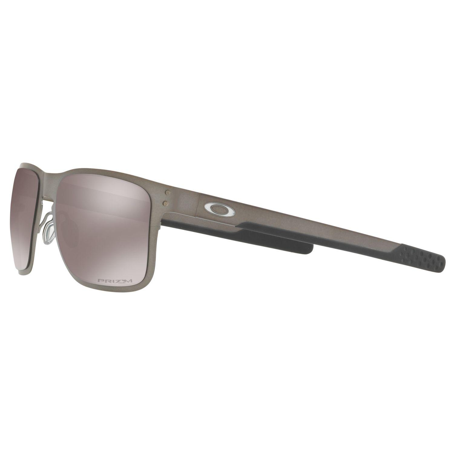 0832f0ae30 Oakley - Gray Oo4123 Men s Holbrook Prizm Polarised Metal Square Sunglasses  for Men - Lyst. View fullscreen