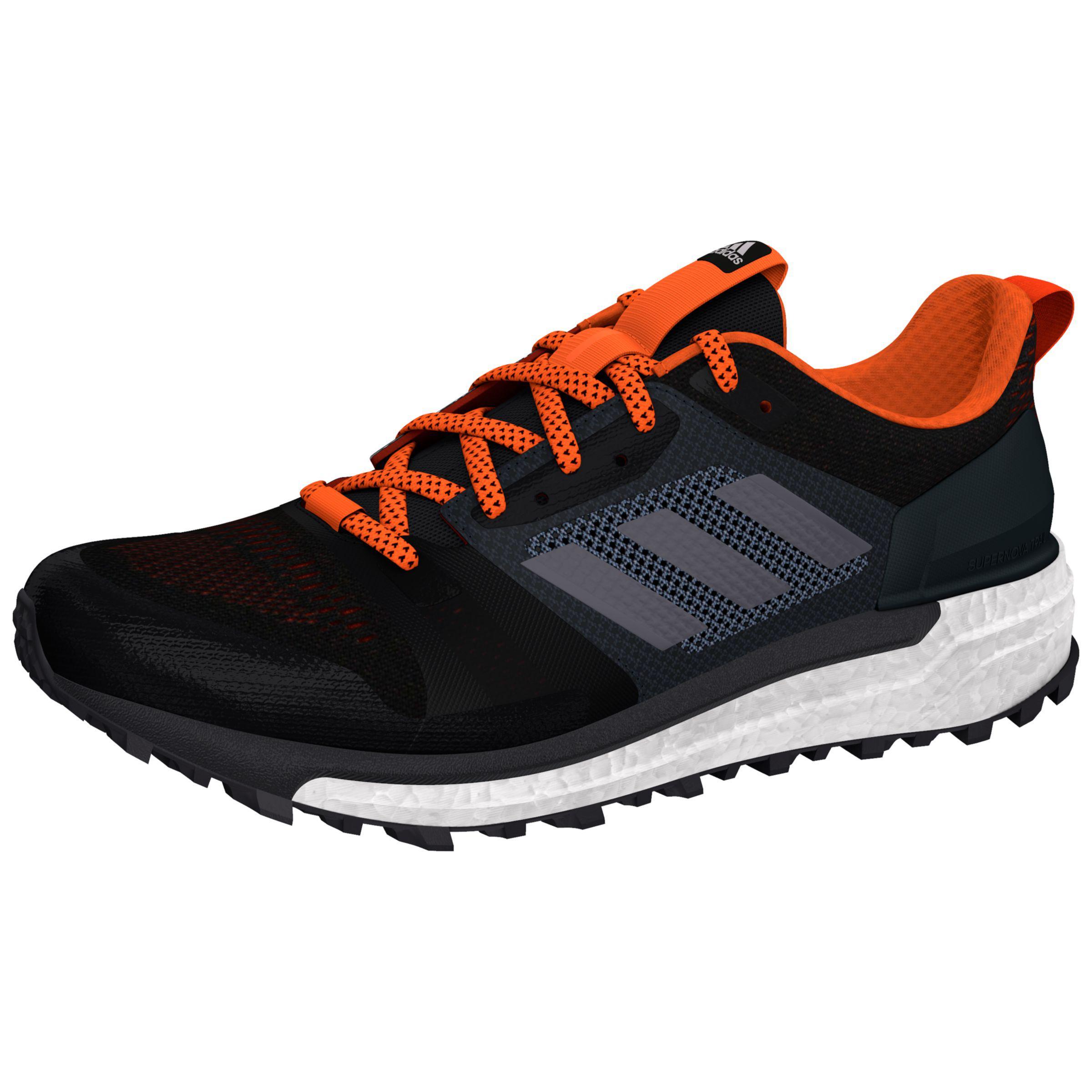 48d6cd5cc Adidas Black Supernova Trial Men's Running Shoes for men