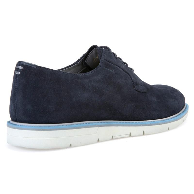 Geox Uvet Suede Trainers in Navy (Blue) for Men
