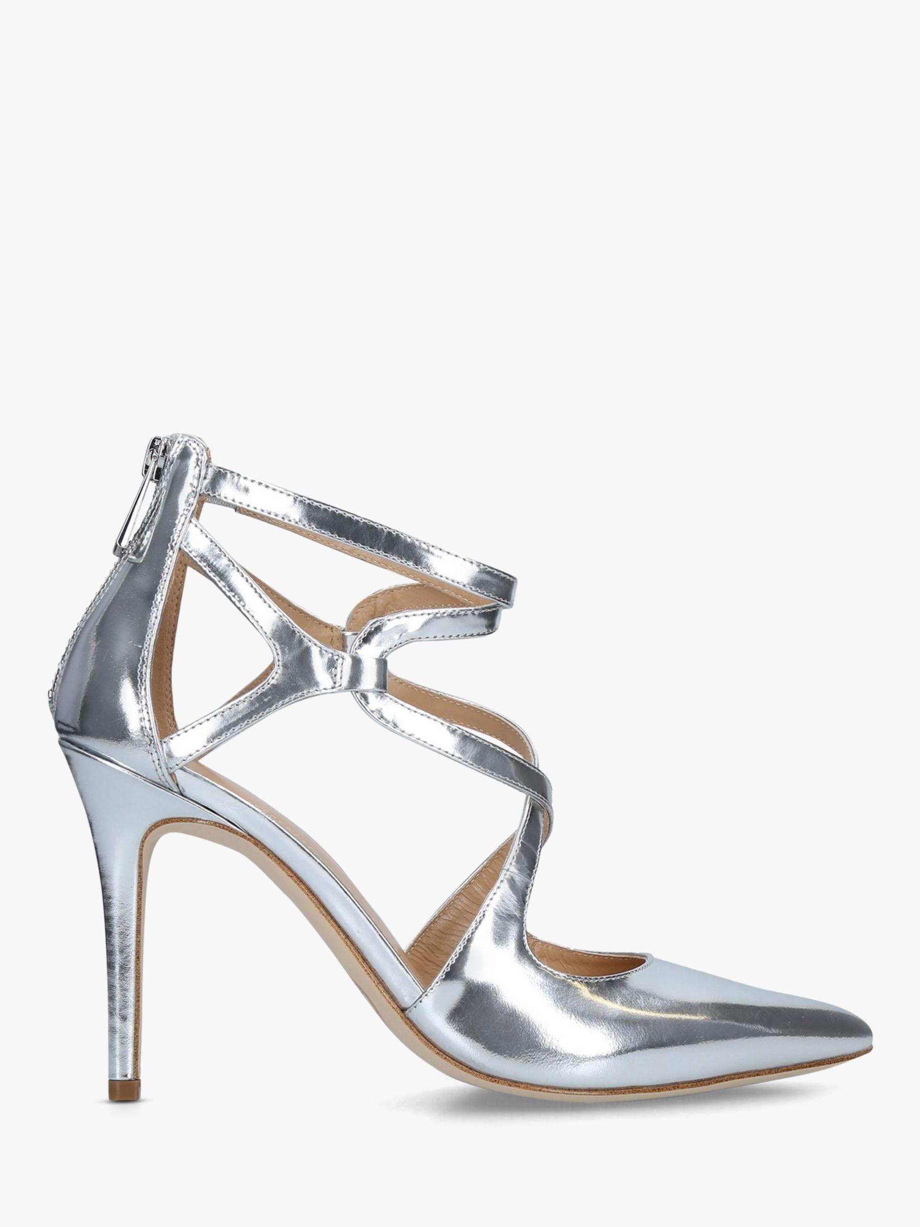 a11104e66cb Michael Kors Michael Catia Stiletto Court Shoes in Metallic - Lyst