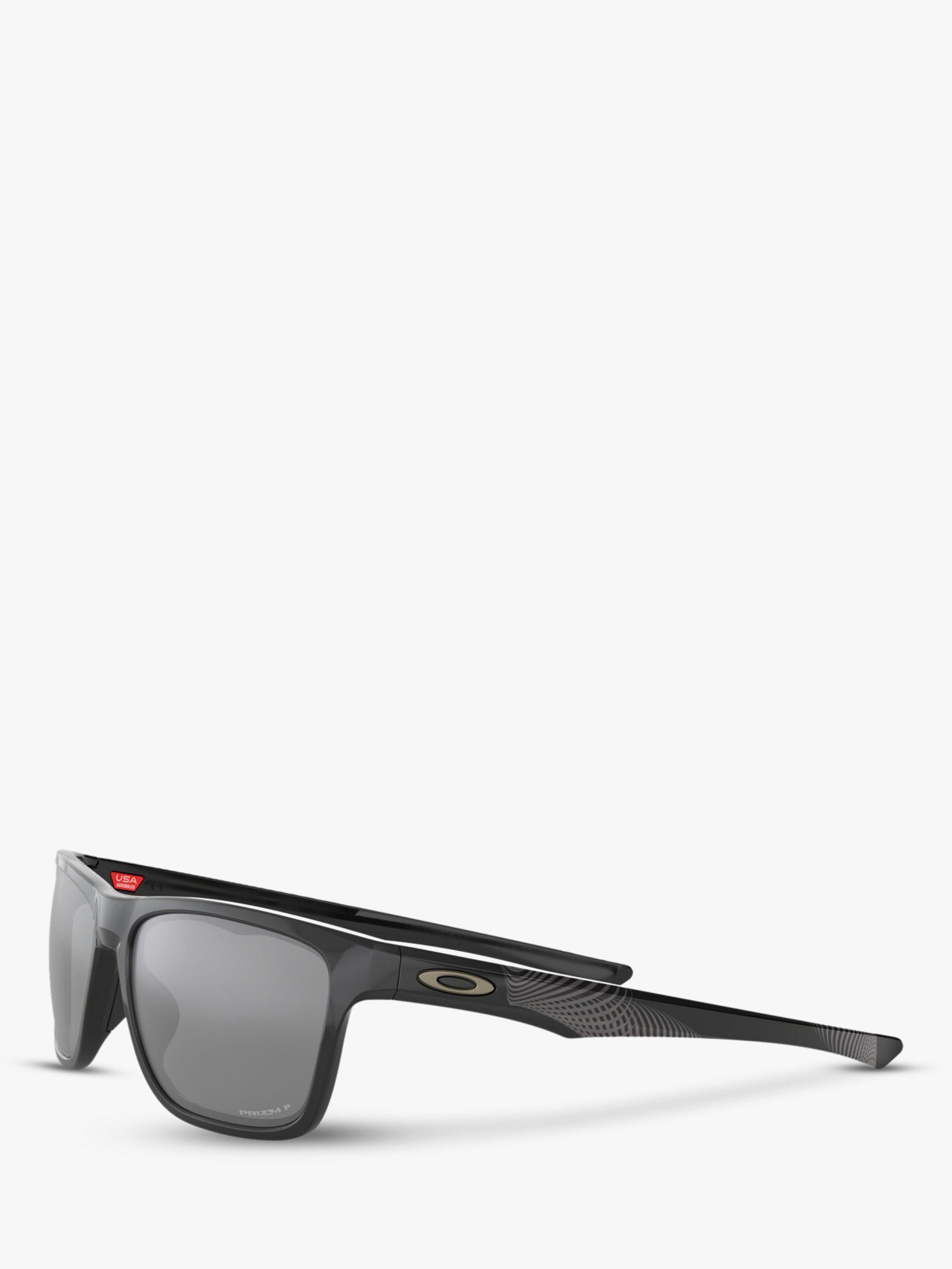 b6a03672a5 Oakley Oo9334 Men s Holston Prizm Polarised Square Sunglasses in Black for  Men - Lyst