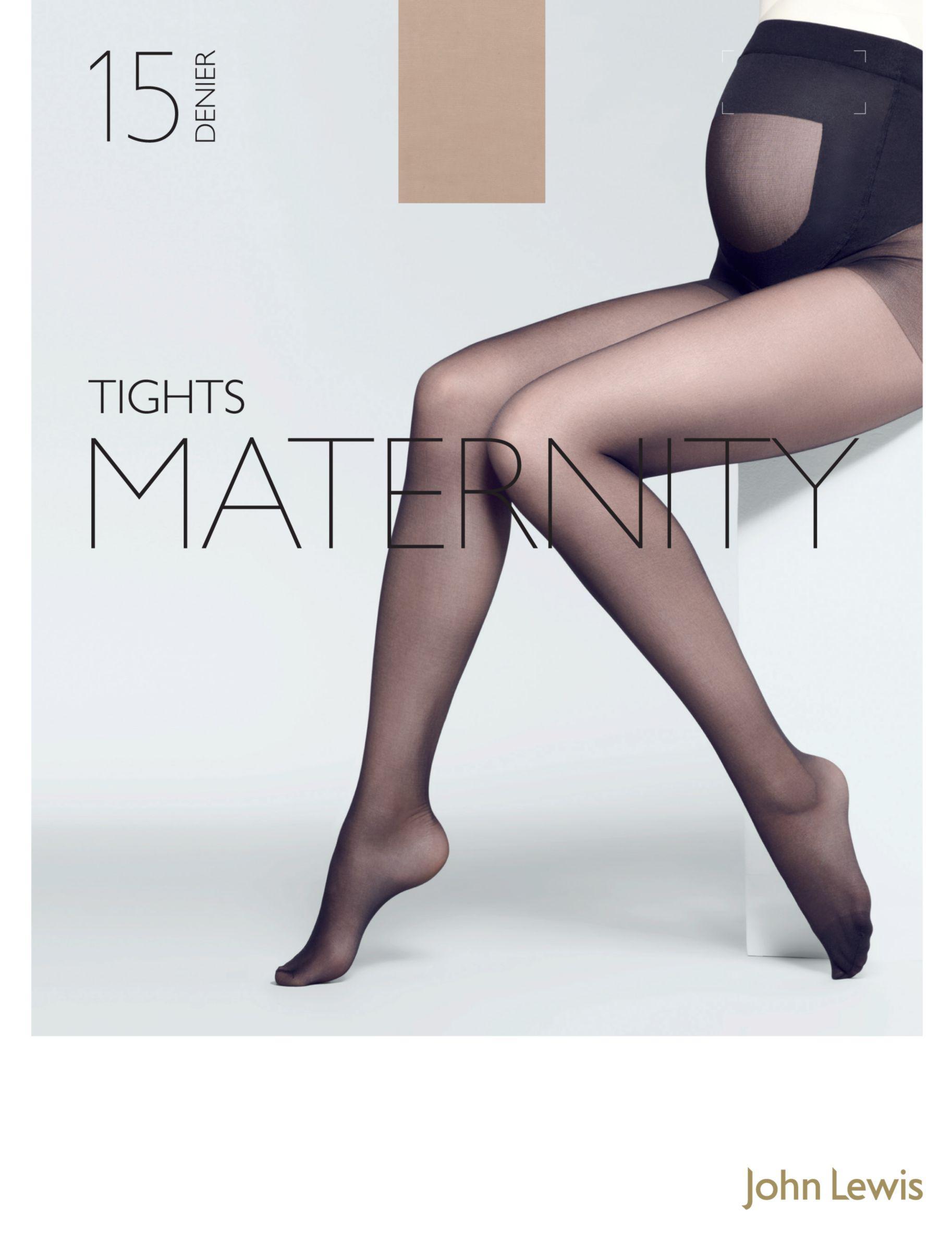 861ed62177fcb John Lewis 15 Denier Sheer Maternity Tights - Lyst