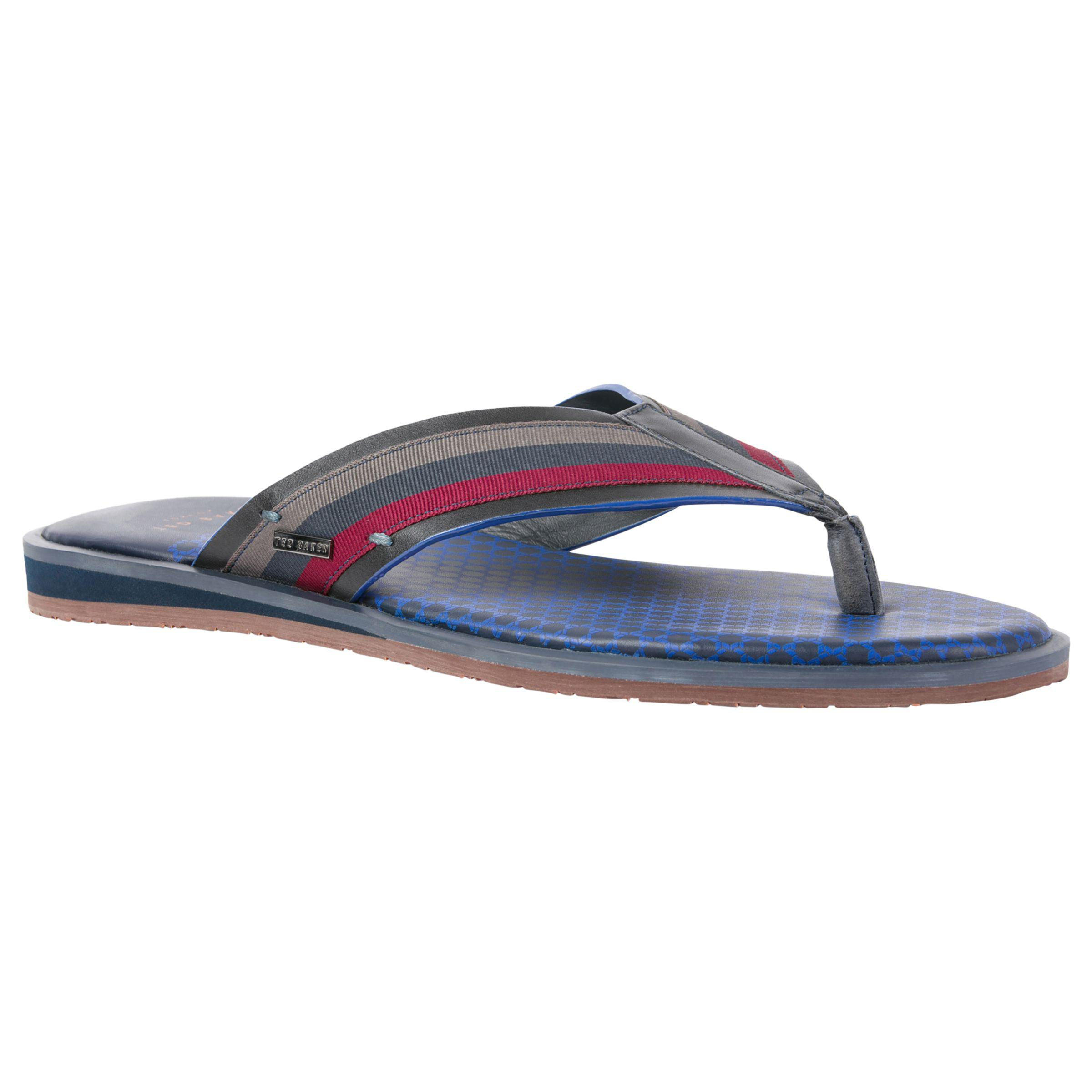 aeec1201dbda19 Ted Baker Knowlun Toe Post Sandals in Blue for Men - Lyst
