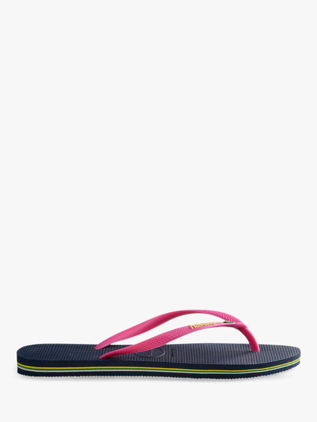 ab8ddfbd8b9f Havaianas. Women s Slim Brasil Logo Flip Flops. £26 From John Lewis and  Partners