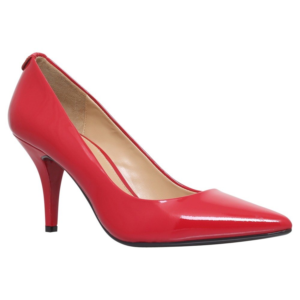michael michael kors flex high heeled stiletto court shoes in red lyst. Black Bedroom Furniture Sets. Home Design Ideas