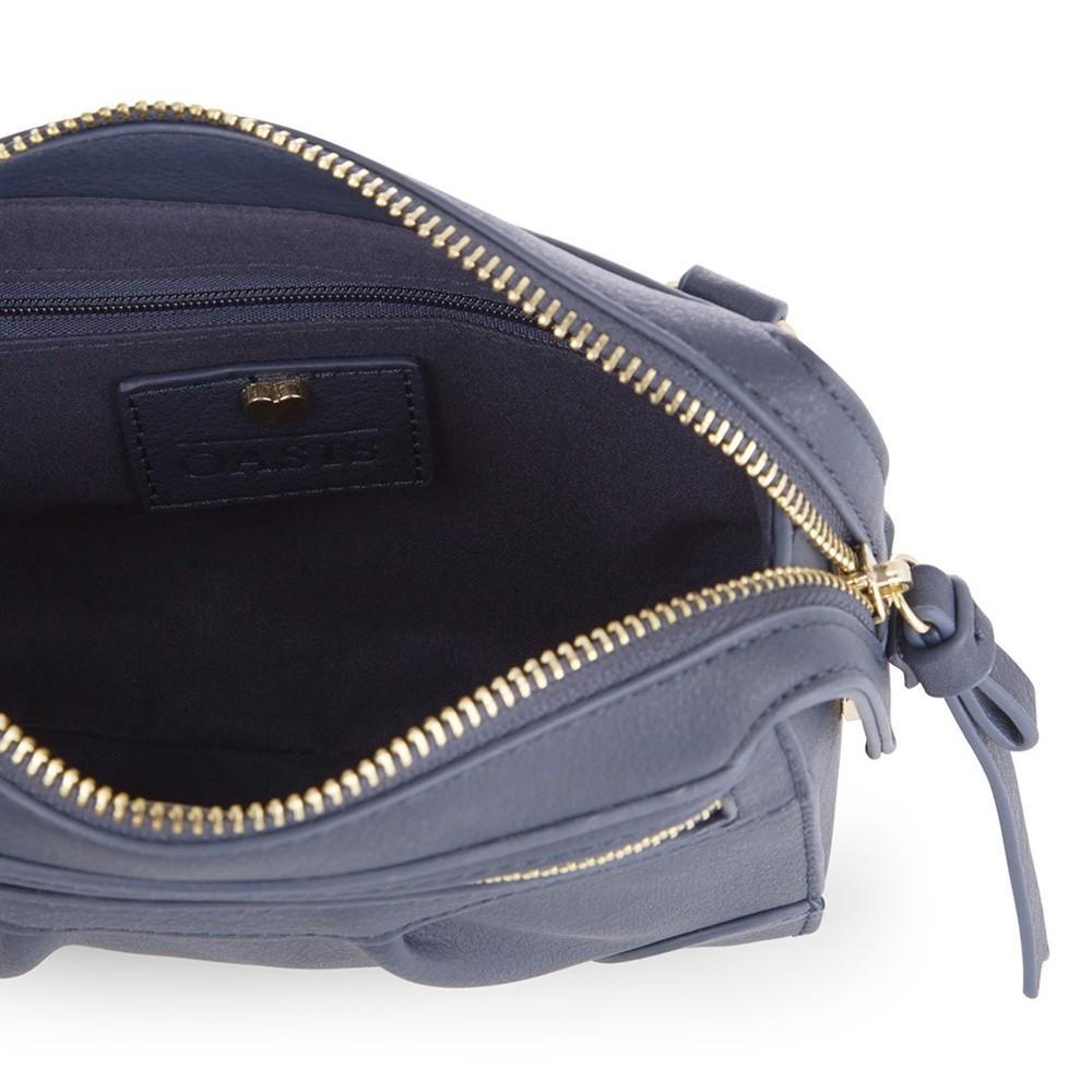 Oasis Synthetic Mini Cross Body Bag in Navy (Blue)