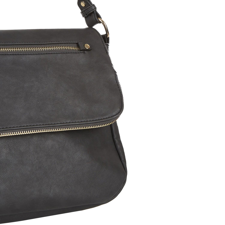 Oasis Synthetic Elphie Cross Body Bag in Grey (Grey)