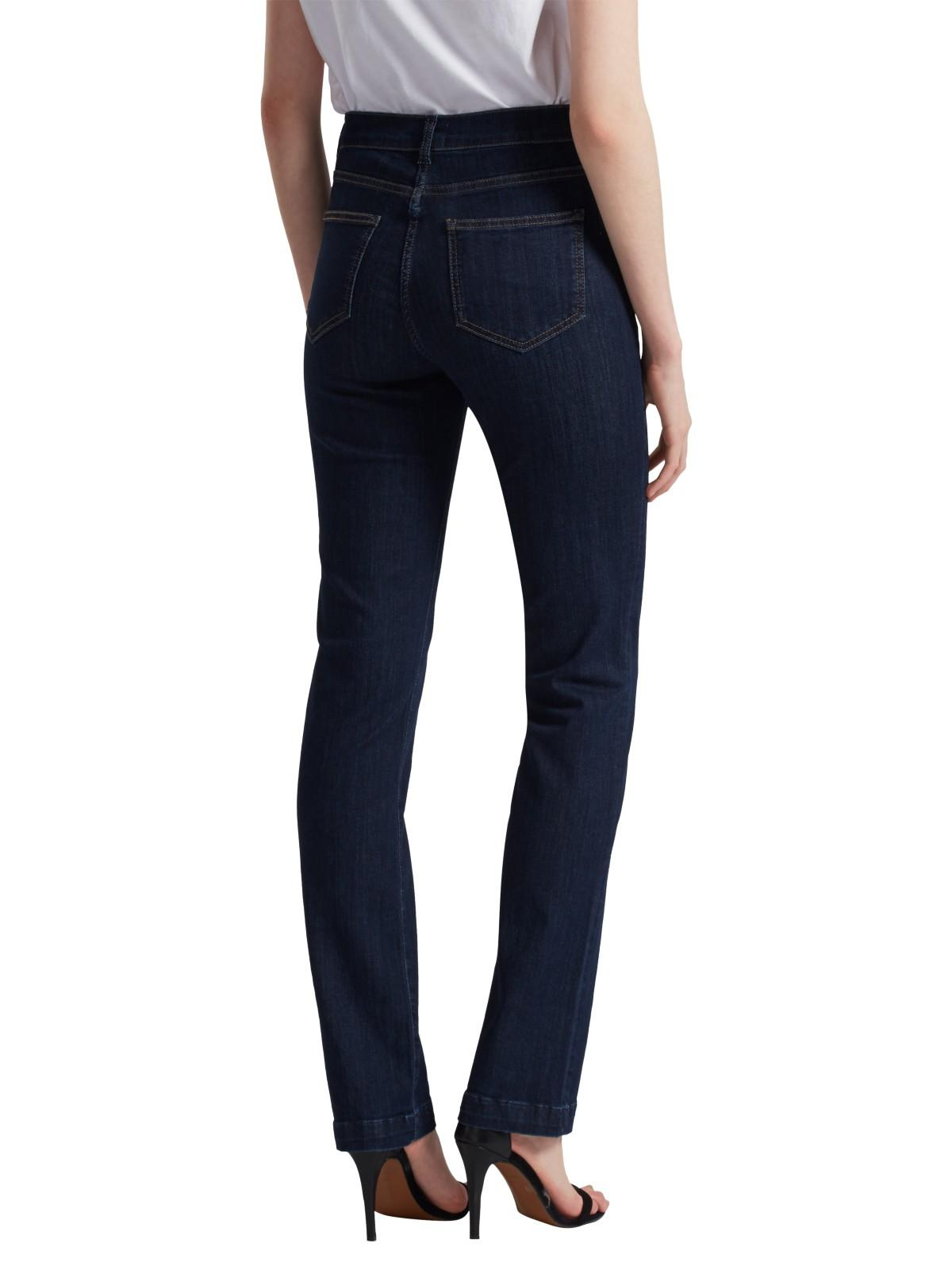 French Connection Lean Bootcut Rebound Denim Jeans in Rinse (Blue)