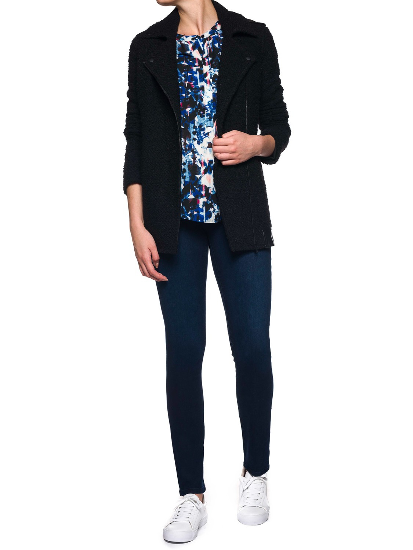 NYDJ Denim Alina Slim Super Stretch Jeans in Paris Night (Blue)