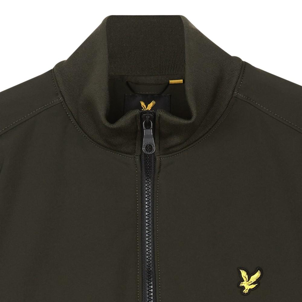 Lyle & Scott Synthetic Zip Through Soft Shell Jacket for Men