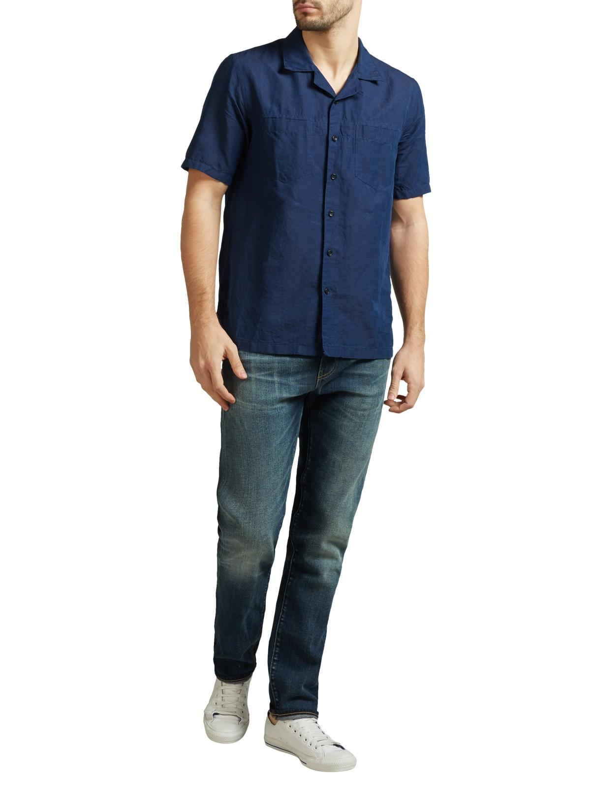 Levi's Denim Made & Crafted Tack Slim Selvedge Jeans in Blue for Men