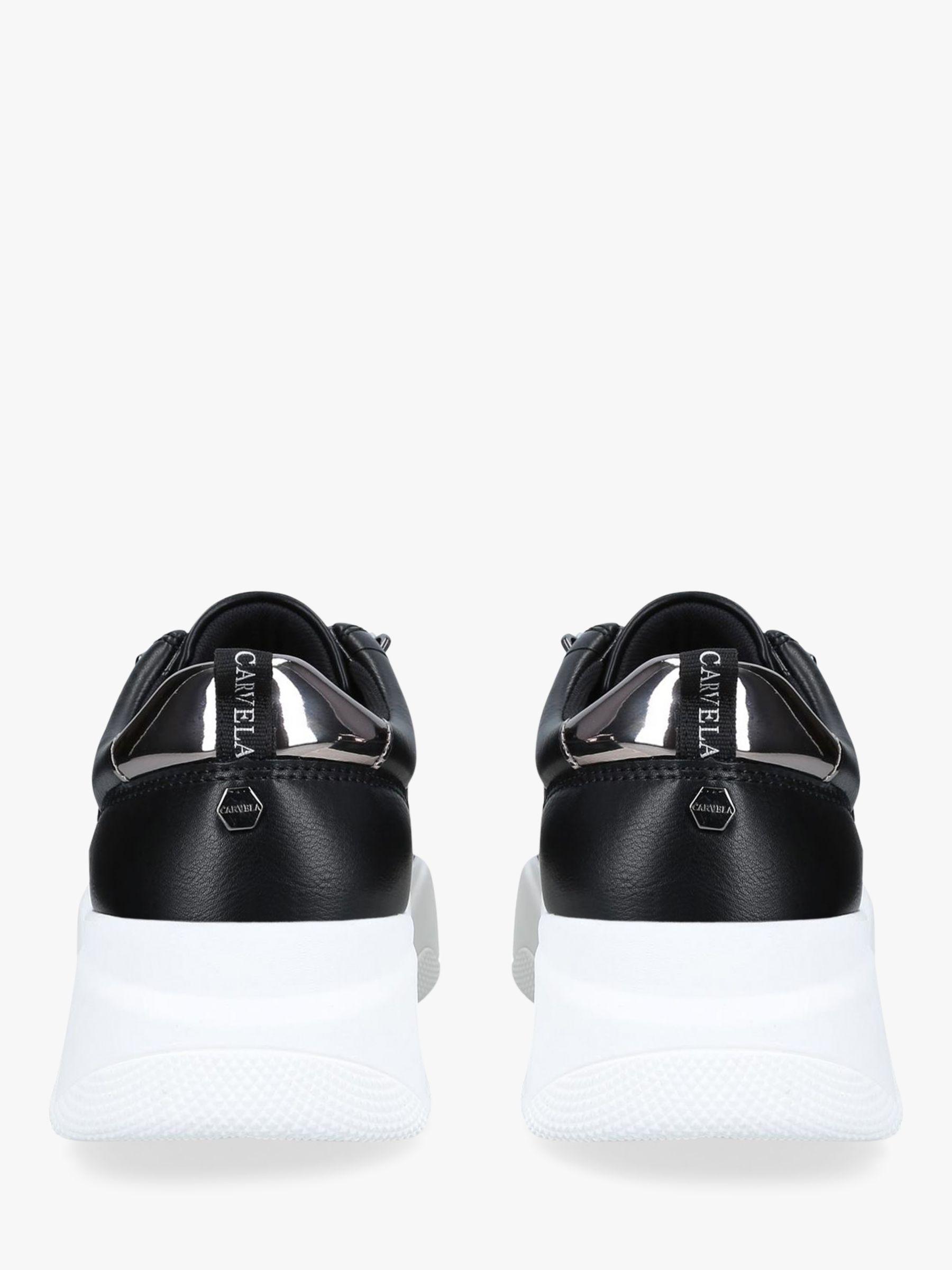 black carvela trainers