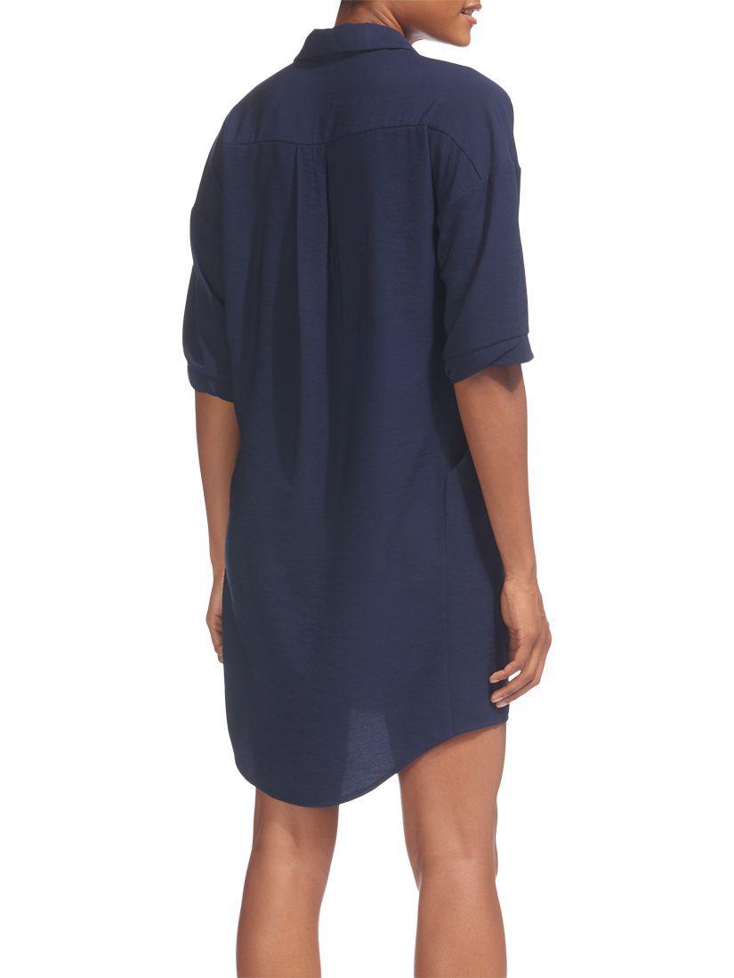 Whistles - Blue Lola Dress - Lyst. View fullscreen 7bd16a353