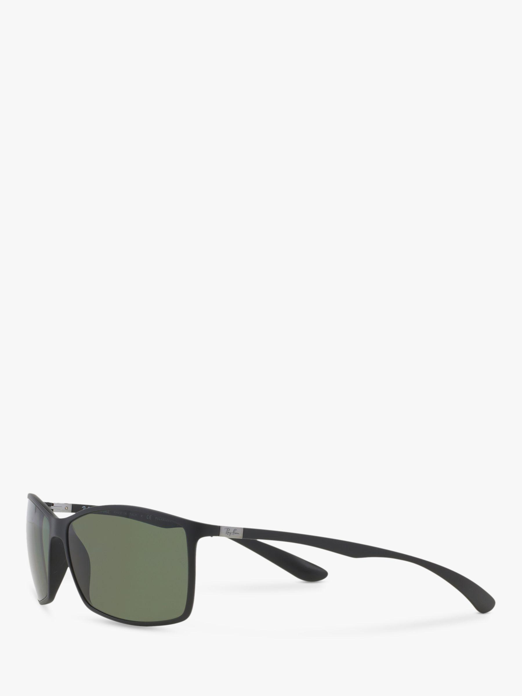 b6c098b95de Ray-Ban - Black Rb4179 Men s Liteforce Tech Polarised Rectangular Sunglasses  for Men - Lyst. View fullscreen