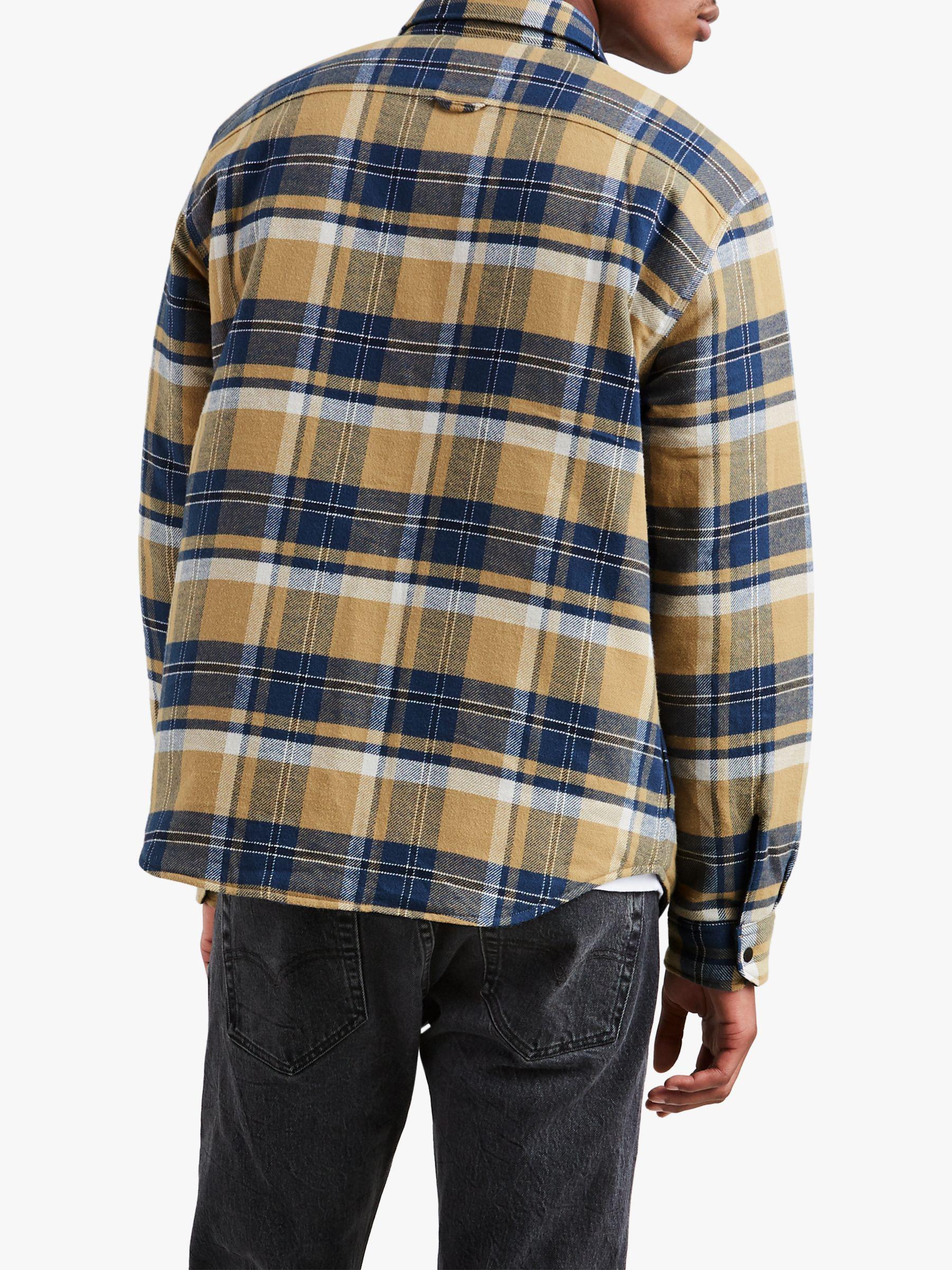 Levi S Flannel X Justin Timberlake Reversible Shirt Jacket