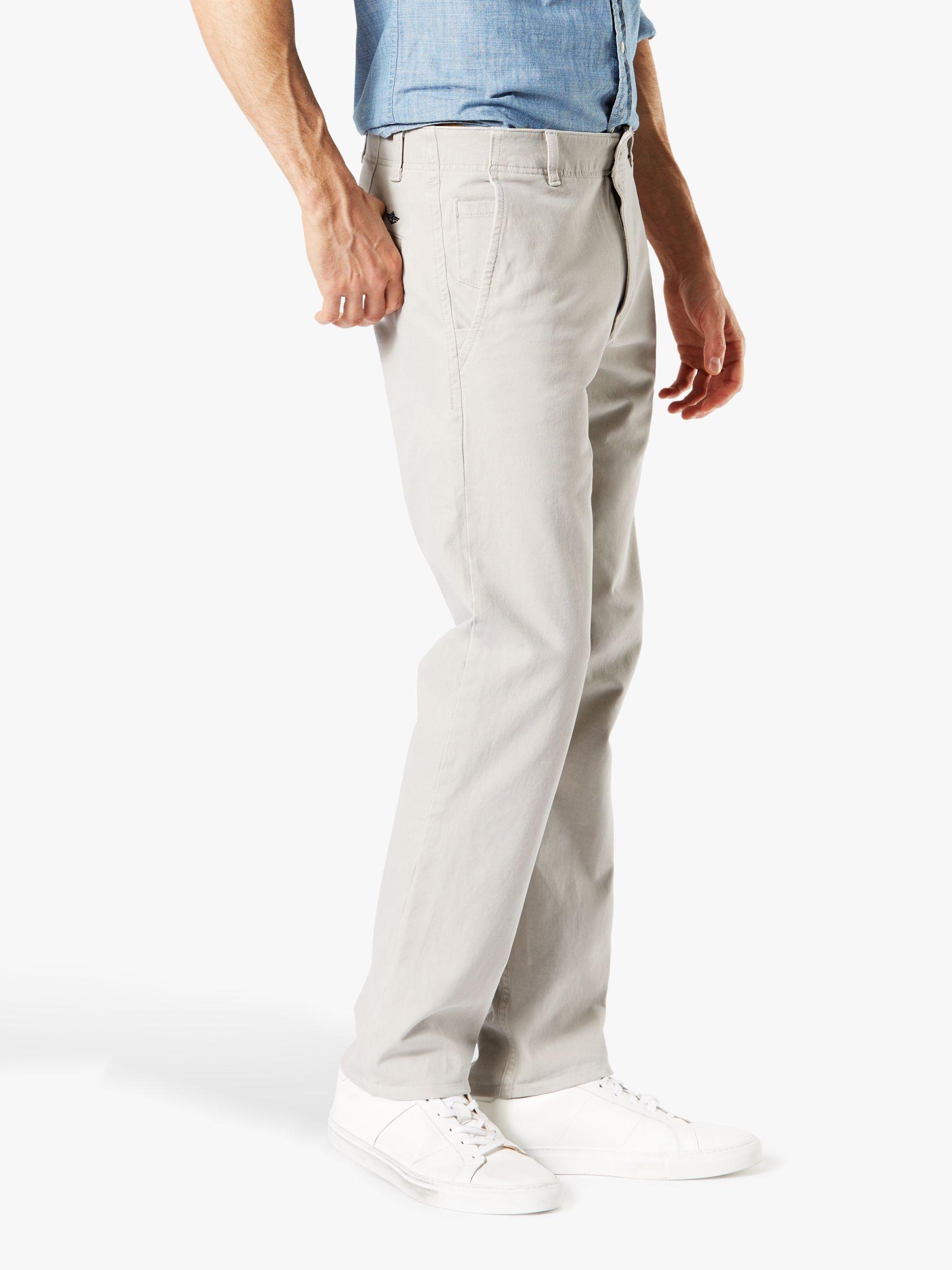 7049db45b6df5b Dockers - Gray Smart 360 Flex Alpha Slim Tapered Trousers for Men - Lyst.  View fullscreen
