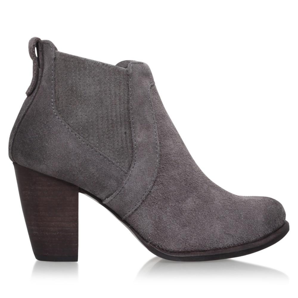 ebc34dcd910 Ugg Gray Cobie Ii Block Heel Ankle Boots