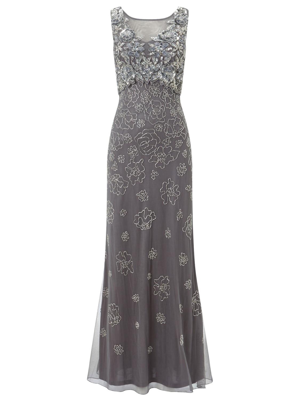 Phase eight Antibes Embellished Dress in Metallic