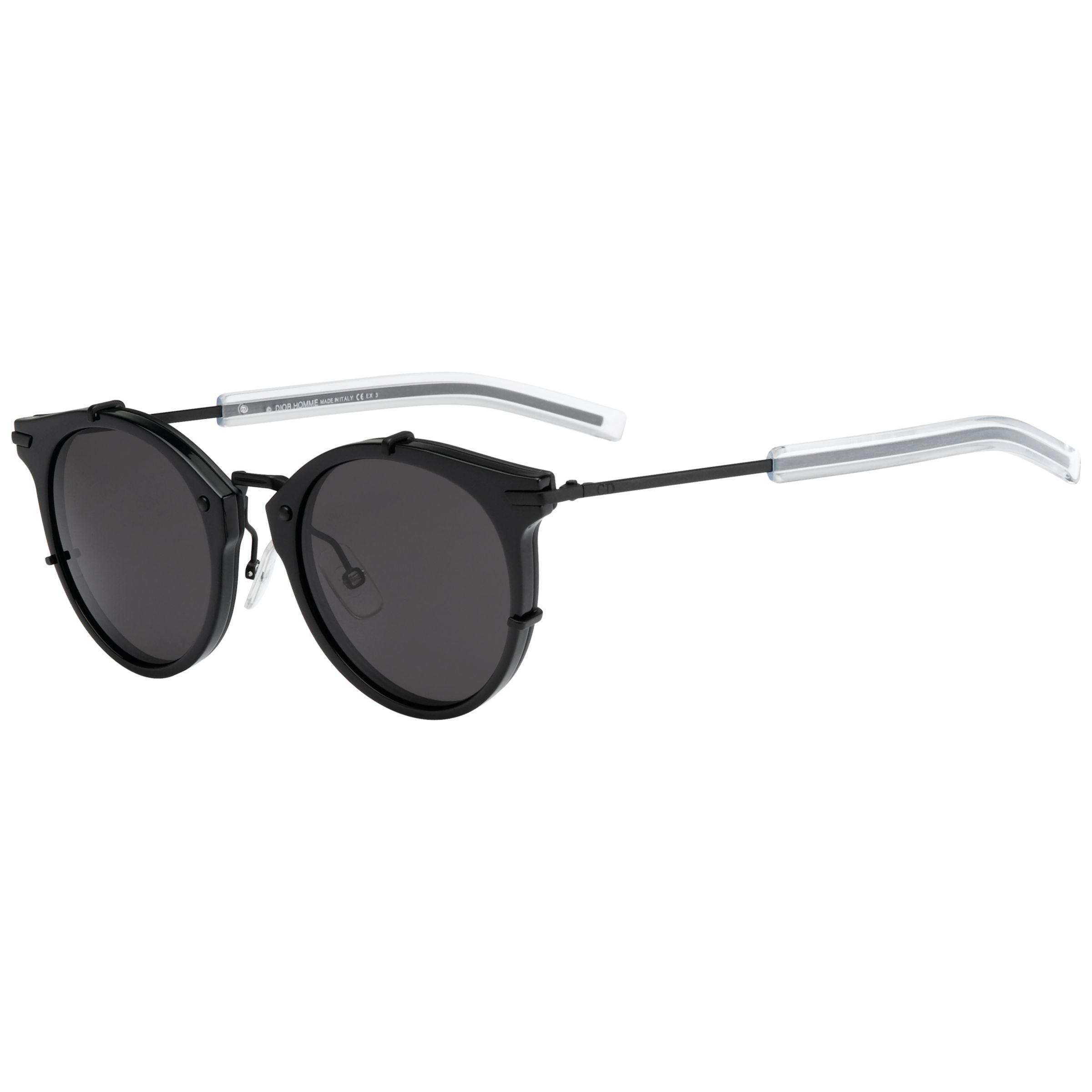 a96d70ff38c3 Dior 0196s Round Sunglasses in Black for Men - Lyst