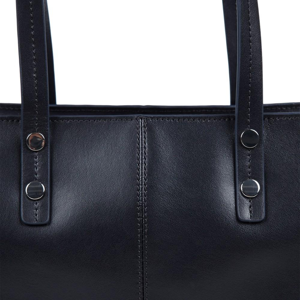 Hobbs Leather Richmond Tote Bag in Navy (Blue)