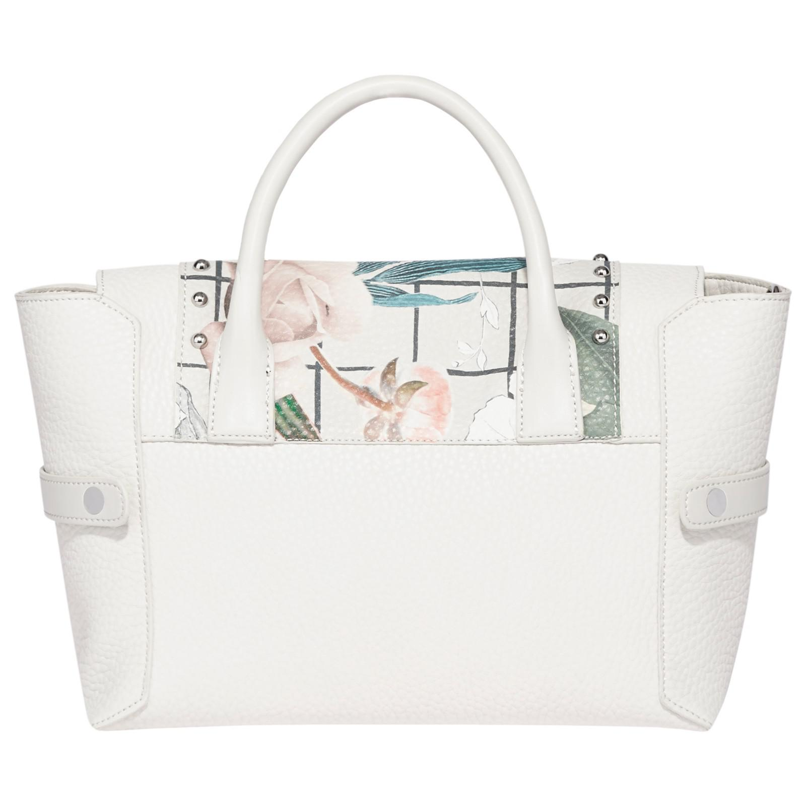 Fiorelli Synthetic Barbican Small Flapover Patterned Tote Bag